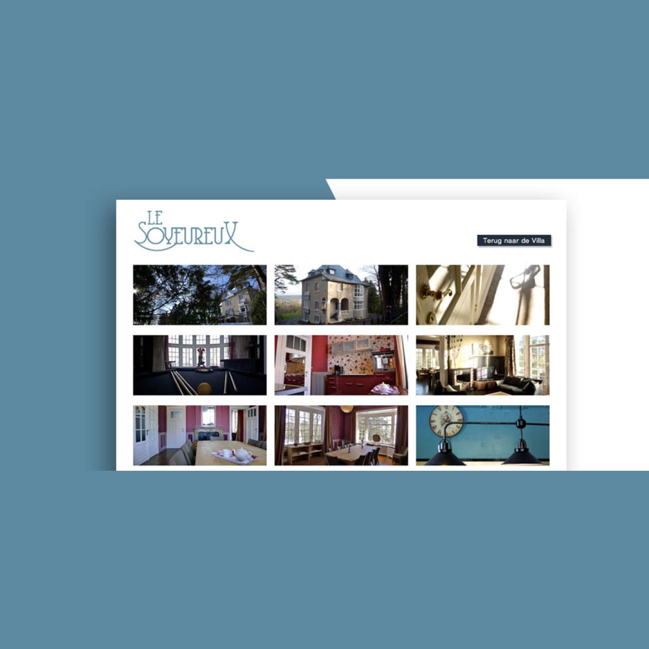 Miko Digital Agence Web à Liège - Site internet pour Le Soyeureux à Spa