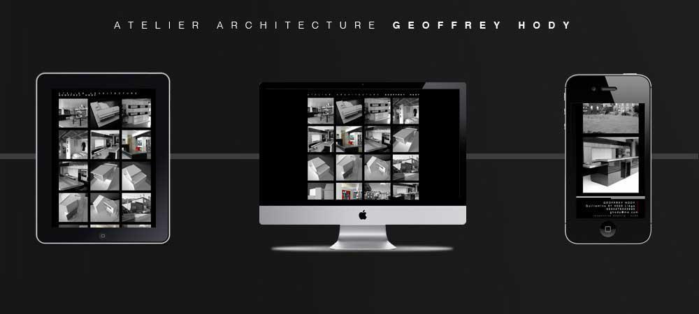 GeoffreyHody Site Internet Responsive