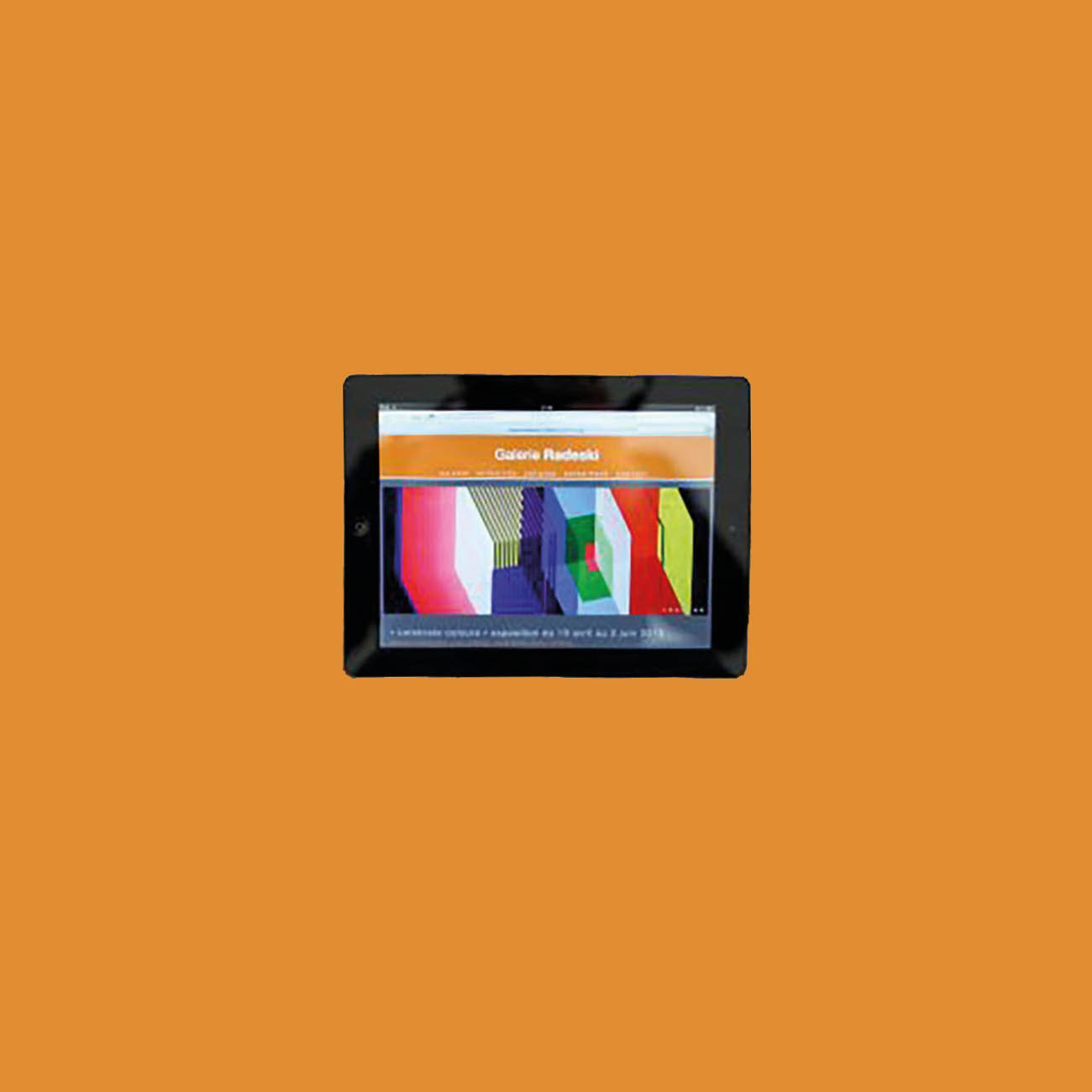 Miko Digital Agence Web à Liège - Site internet pour la Galerie Radeski