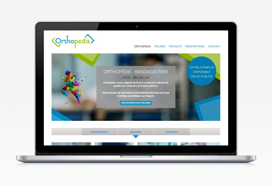 creation site web liege orthopedia