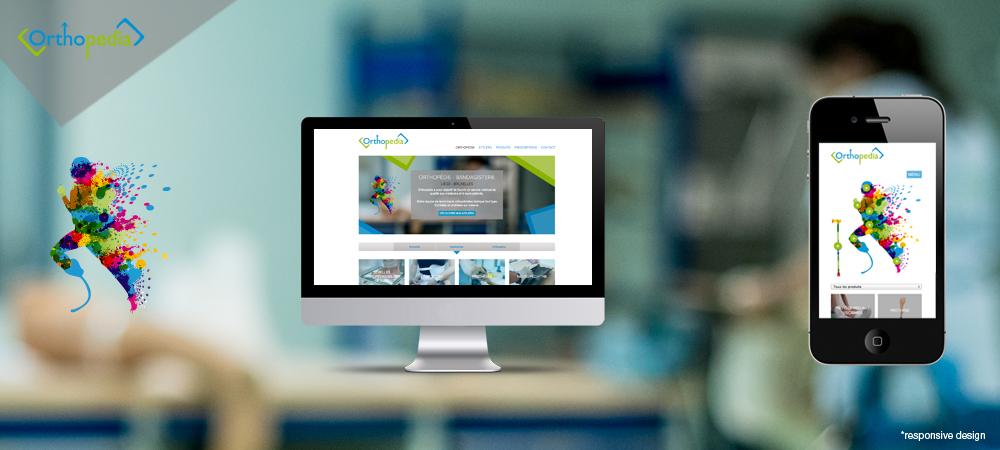 création de site web liège Orthopedia