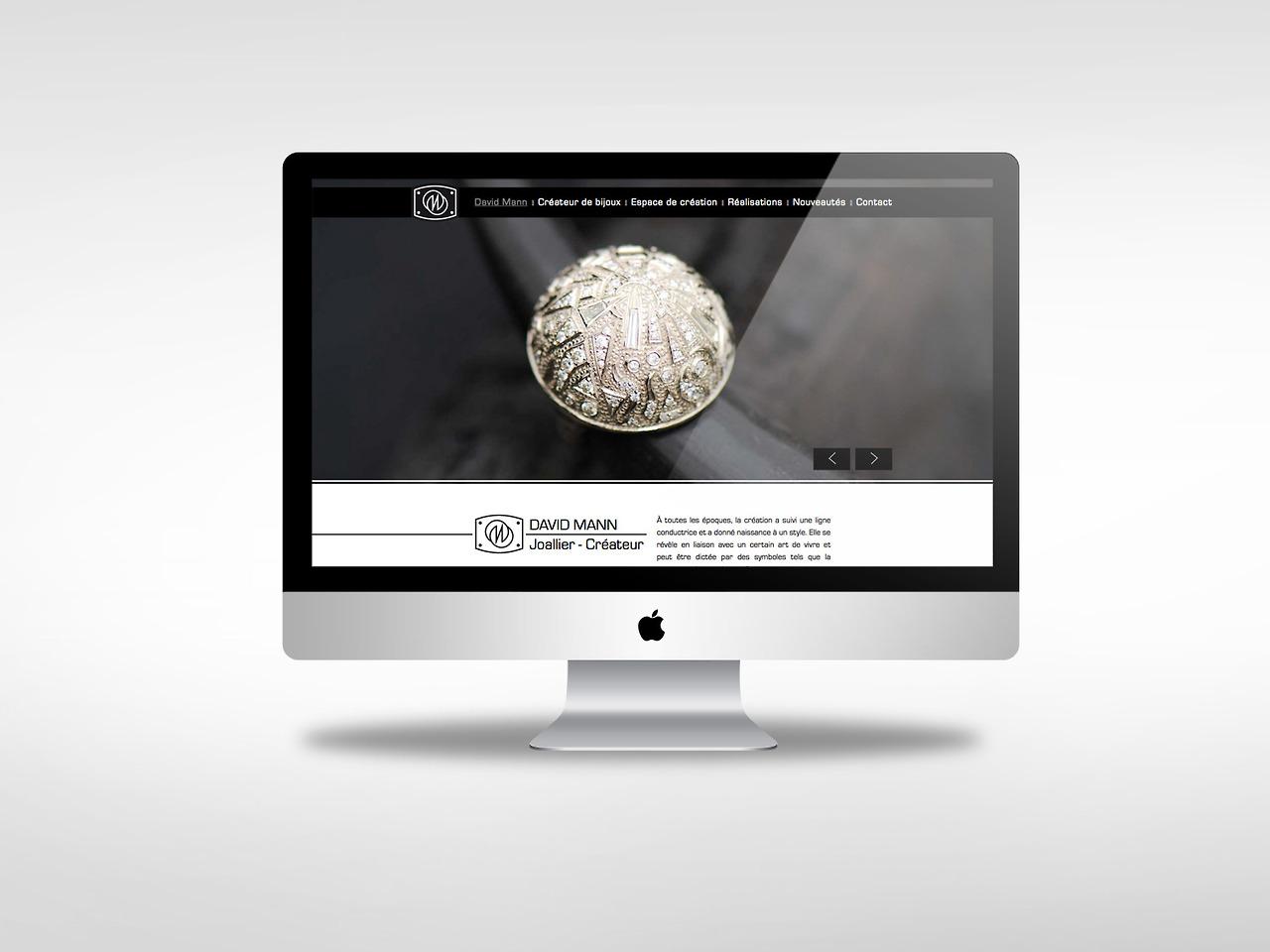 creation site web liege david mann