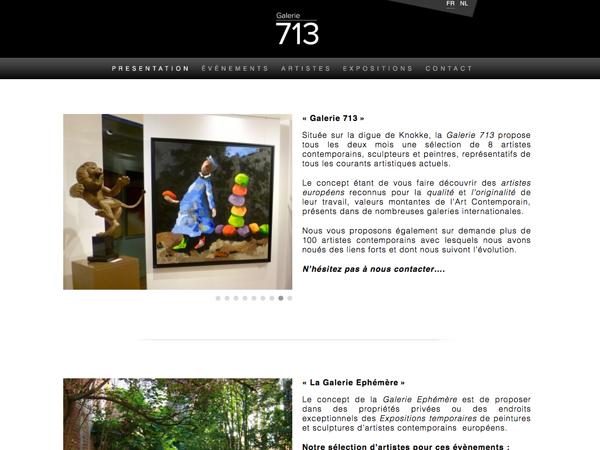 creation site web liege galerie 713