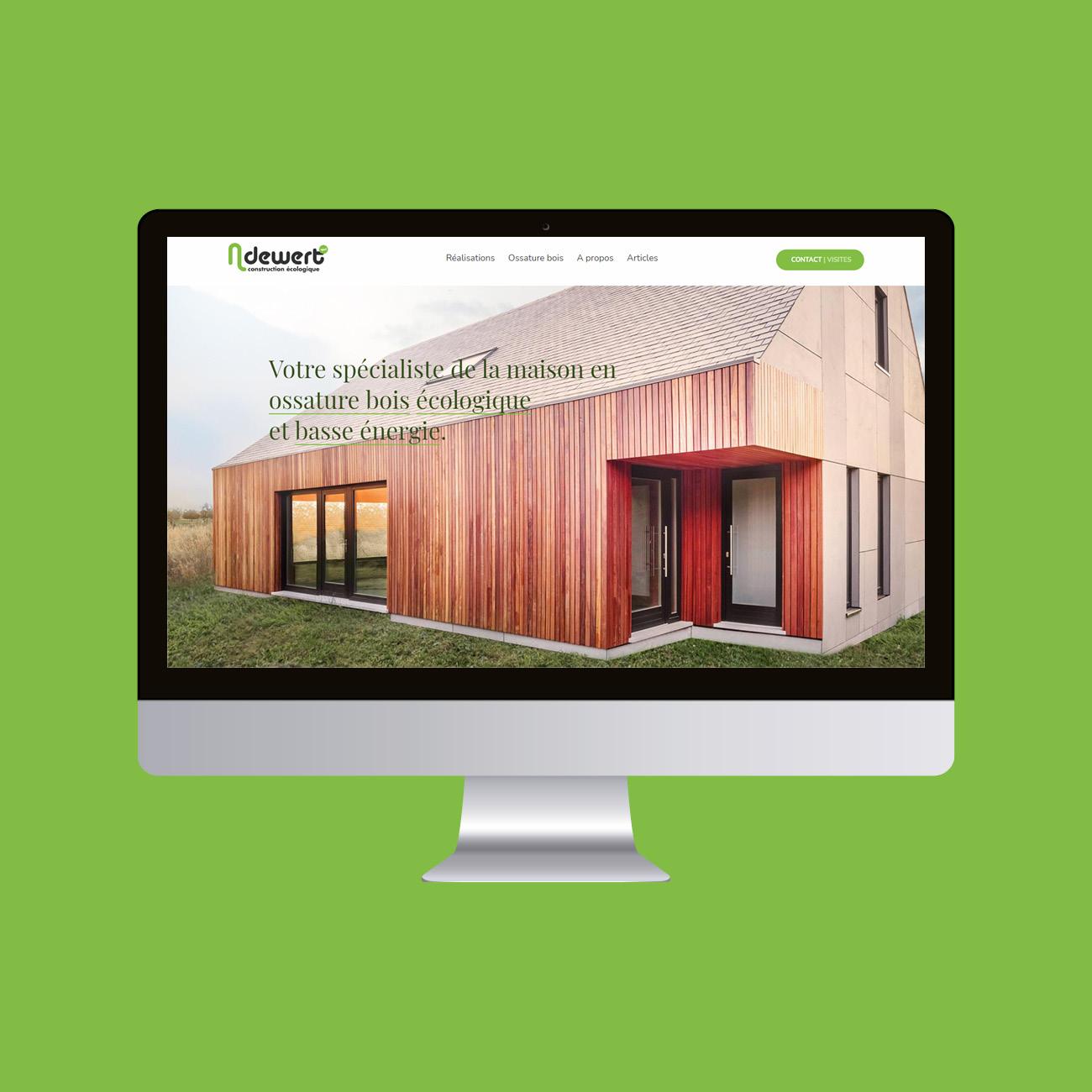 Miko Digital Agence web à Liège - Site web pour N.Dewert