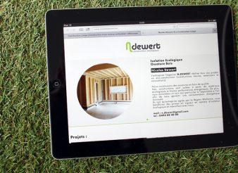 Site web Creation Nicolas Dewert