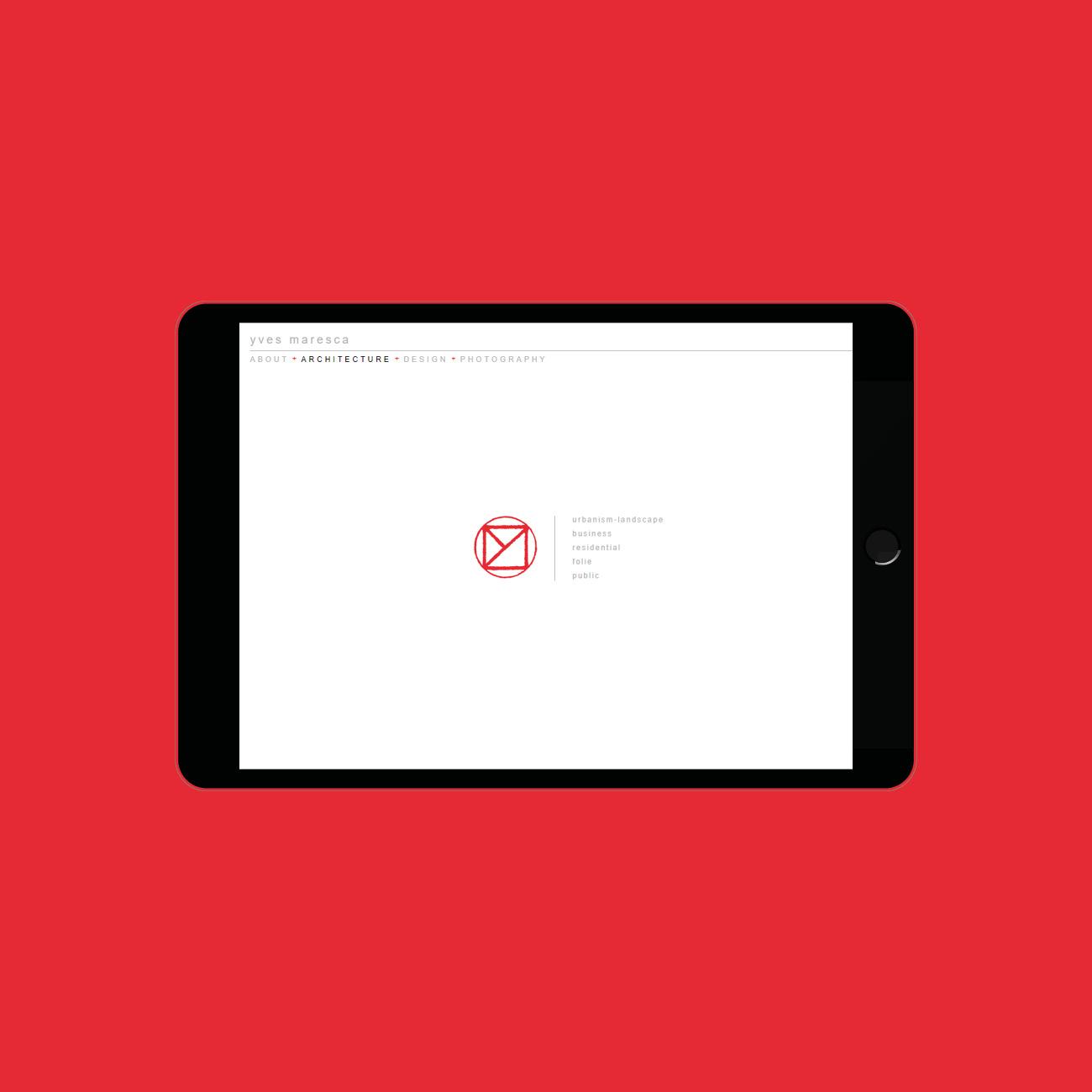 Miko Digital Agence web à Liège - Site web pour Yves Maresca