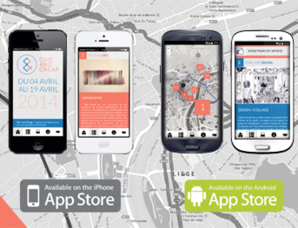 Application iOS & Android Chic & Cheap