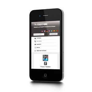 creation site web liege mobile foot4me