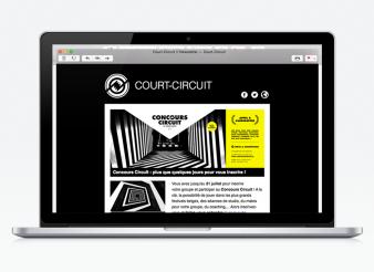 Modèle de Newsletter agence web Liège