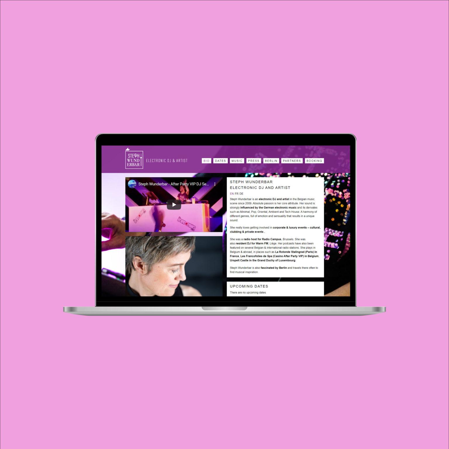 Miko Digital Agence web à Liège - Steph Wunderbar