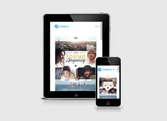 Création site web Liège mobile tablette Stenola