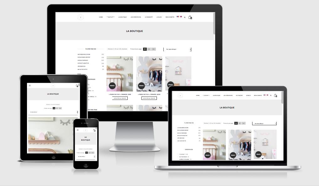 Création site web Liège O Some e commerce