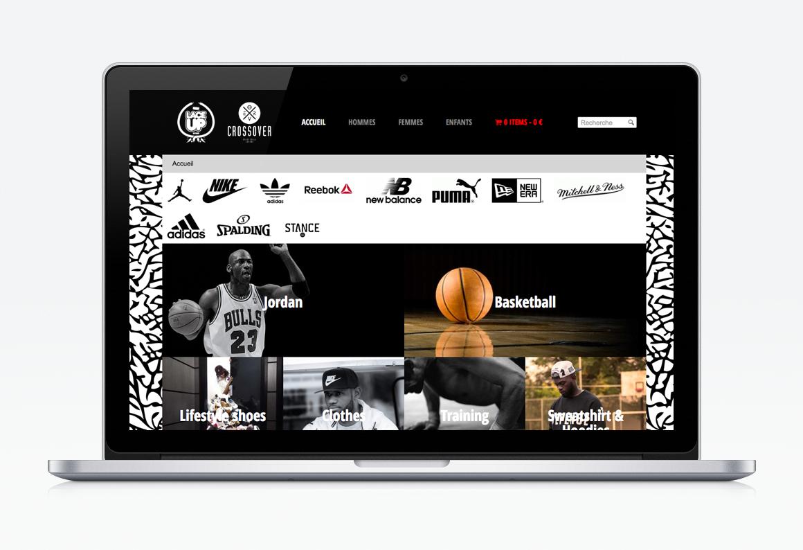 Création site web Liège e-commerce Lace Up