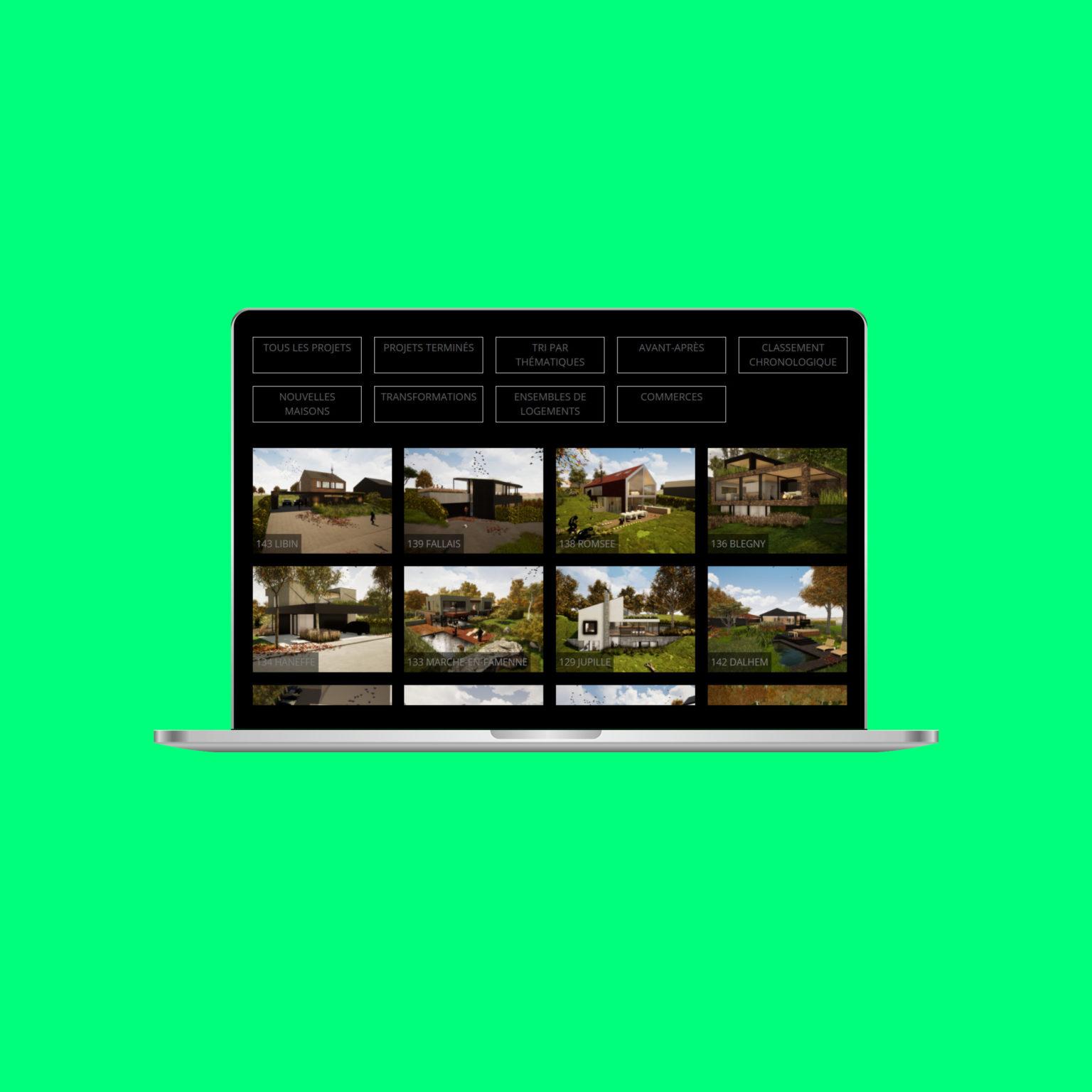 Miko Digital Agence web à Liège - Architecture dbxr