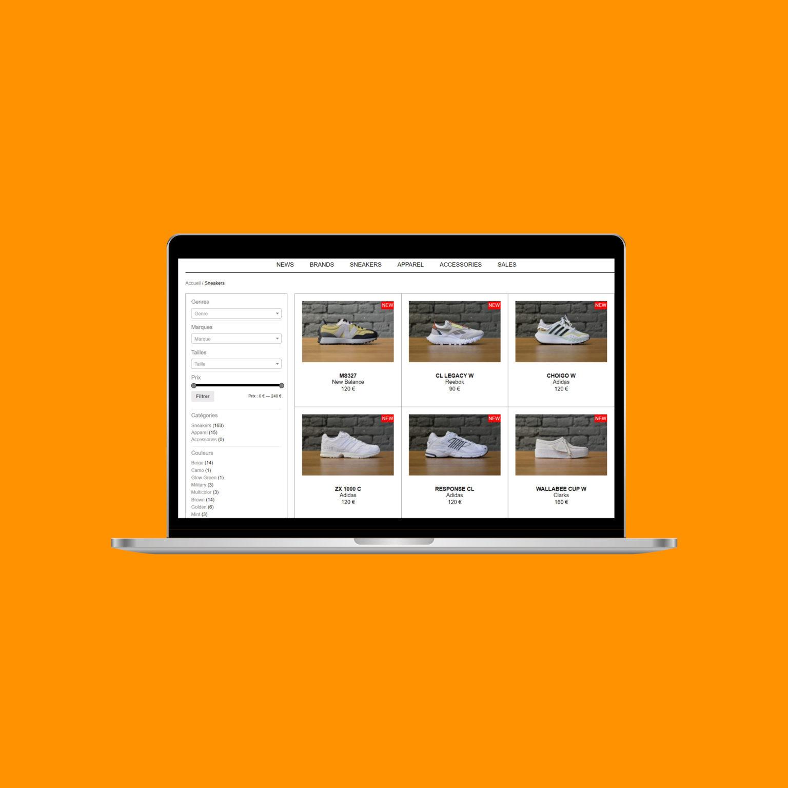 Miko Digital Agence web à Liège - Lace Up