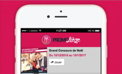 Création site web Mobile Promo Liège