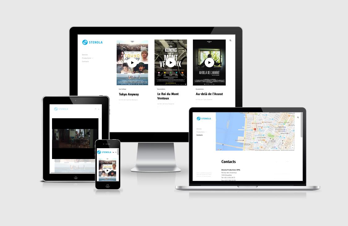 Création site web Liège Stenola