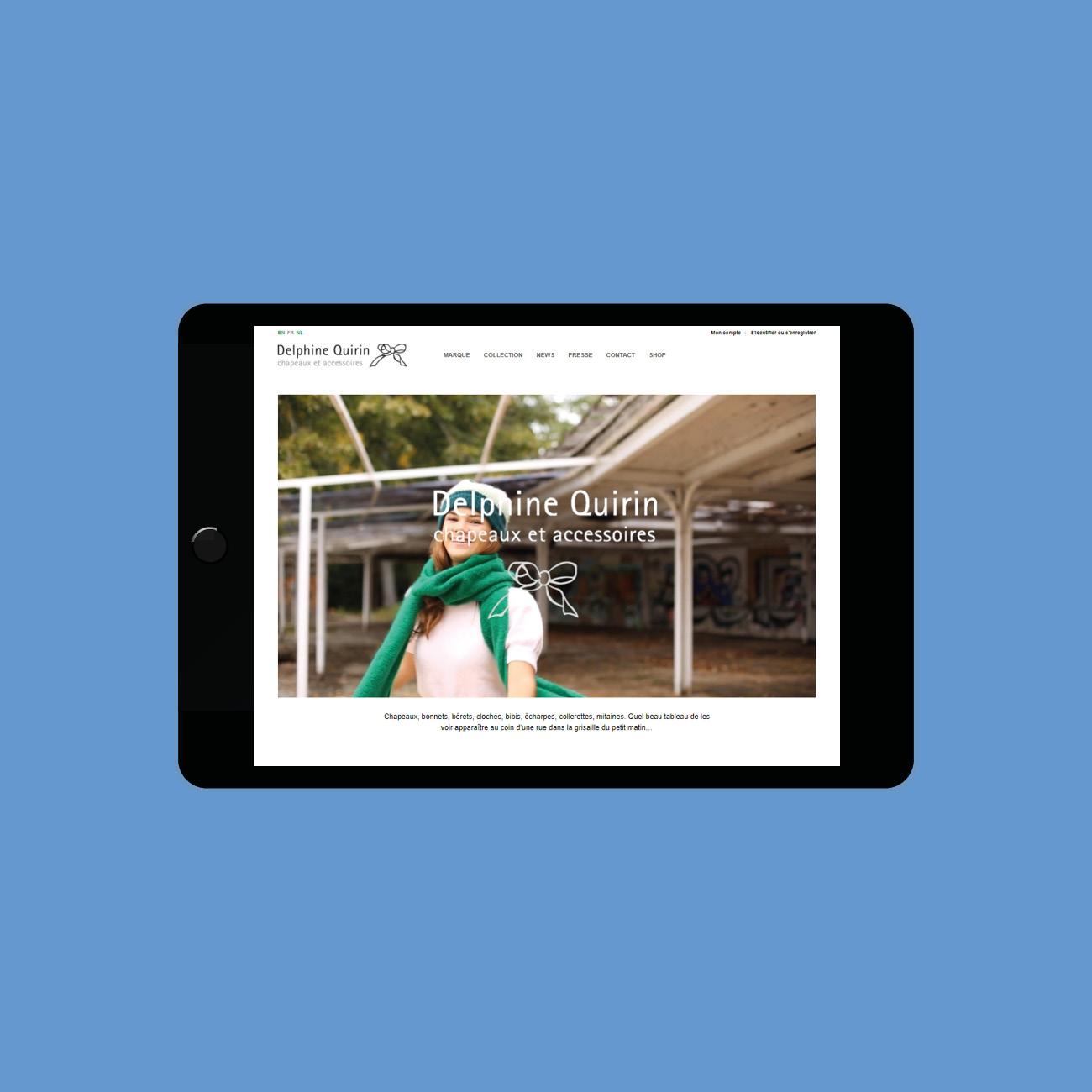 Miko Digital Agence web à Liège - E-commerce Delphine Quirrin
