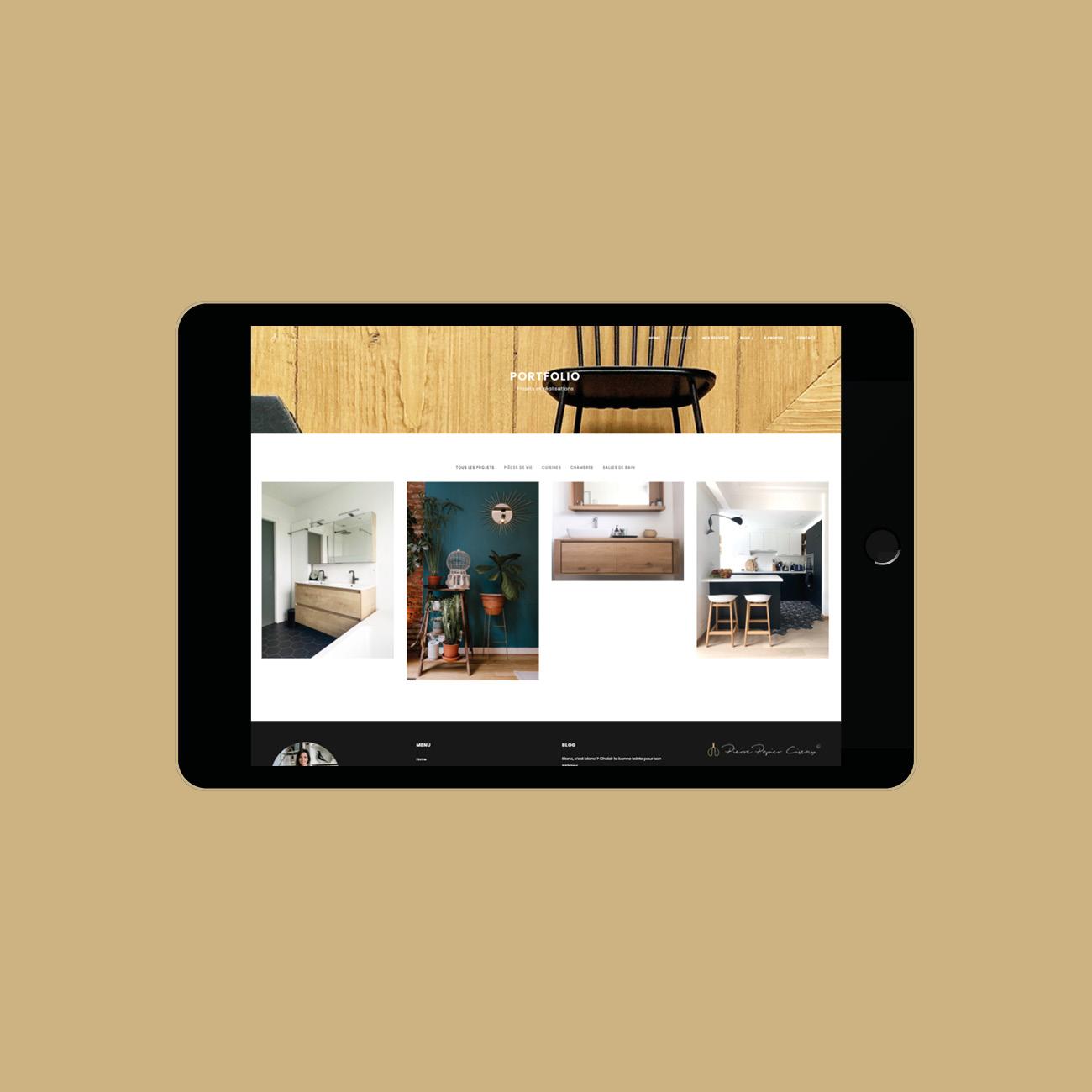 Miko Digital Agence web à Liège - Création site web Pierre Papier Ciseaux
