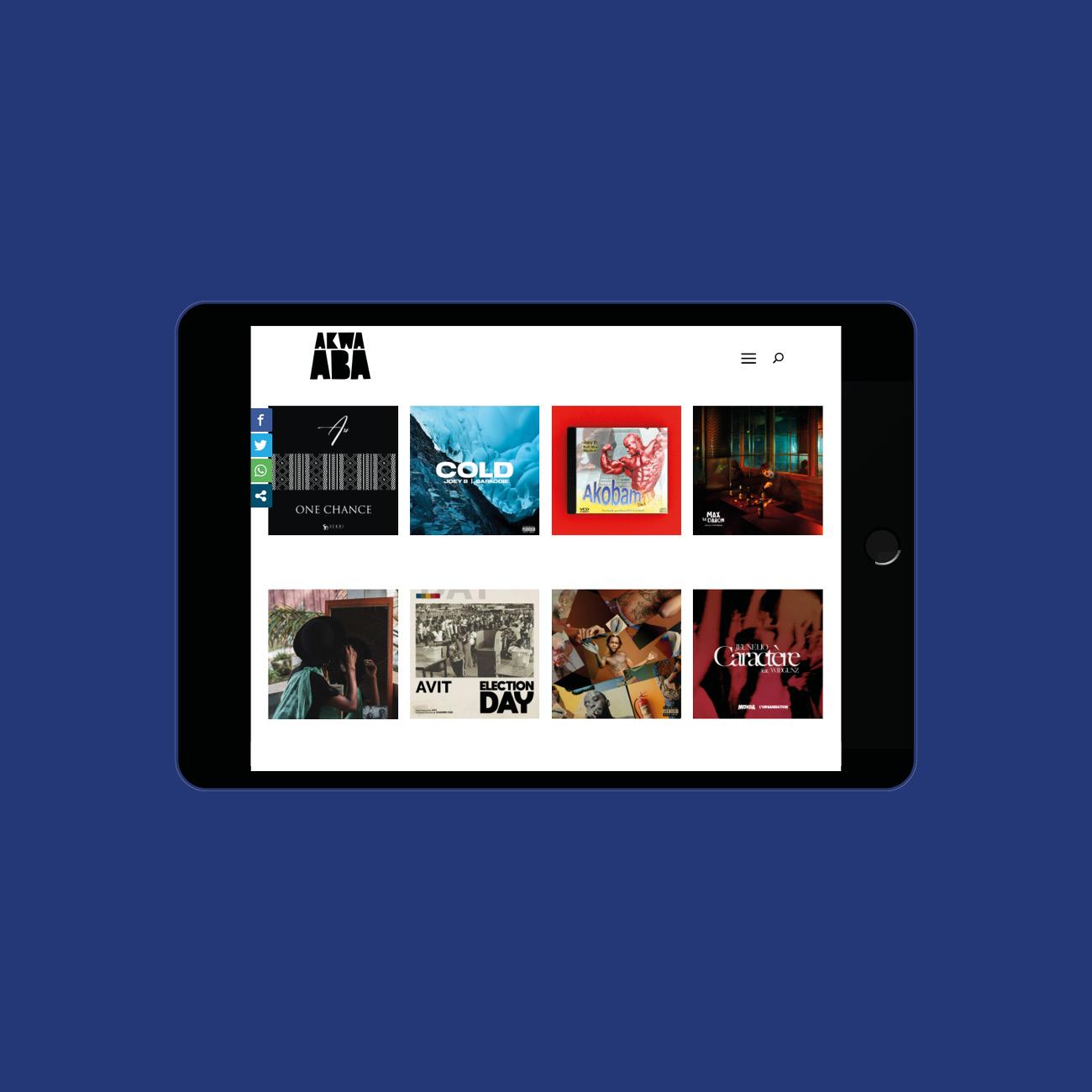 Miko Digital Agence web à Liège - Radio en ligne Akwaaba Music