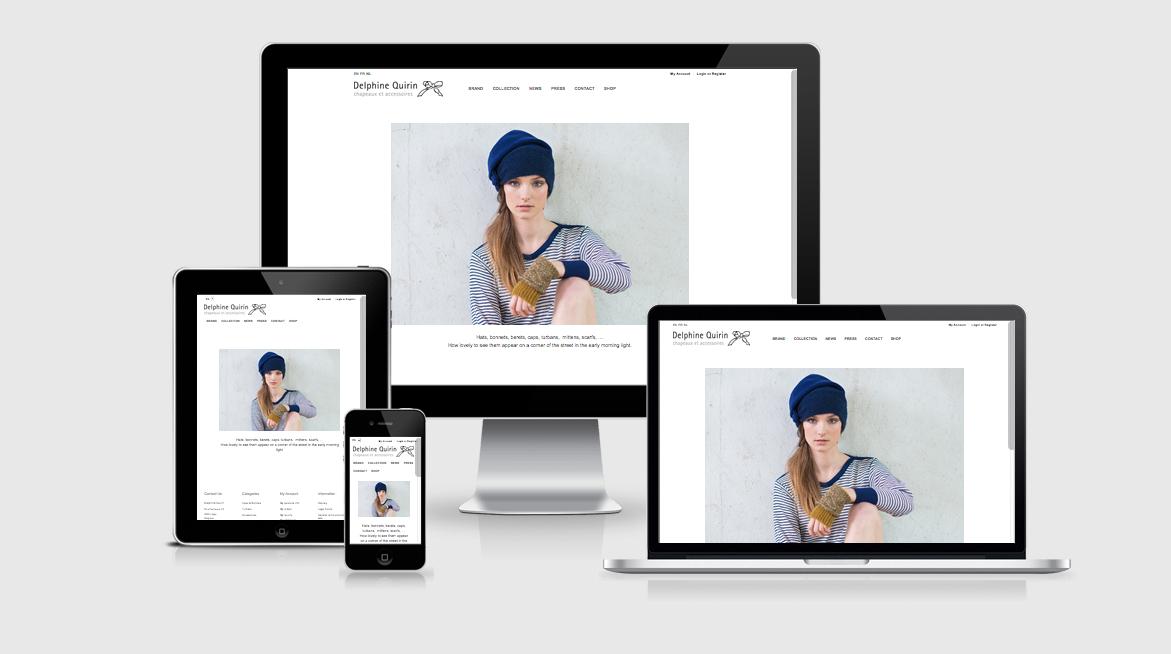 Création de site web Liège e-commerce Delphine Quirrin