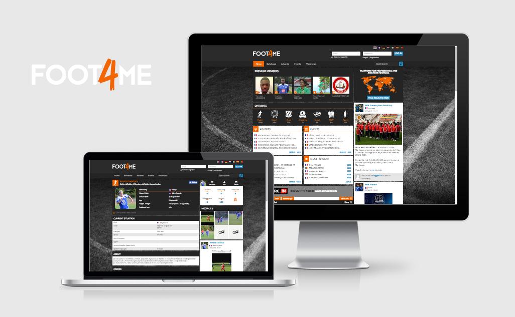Création site web Liège Foot4Me