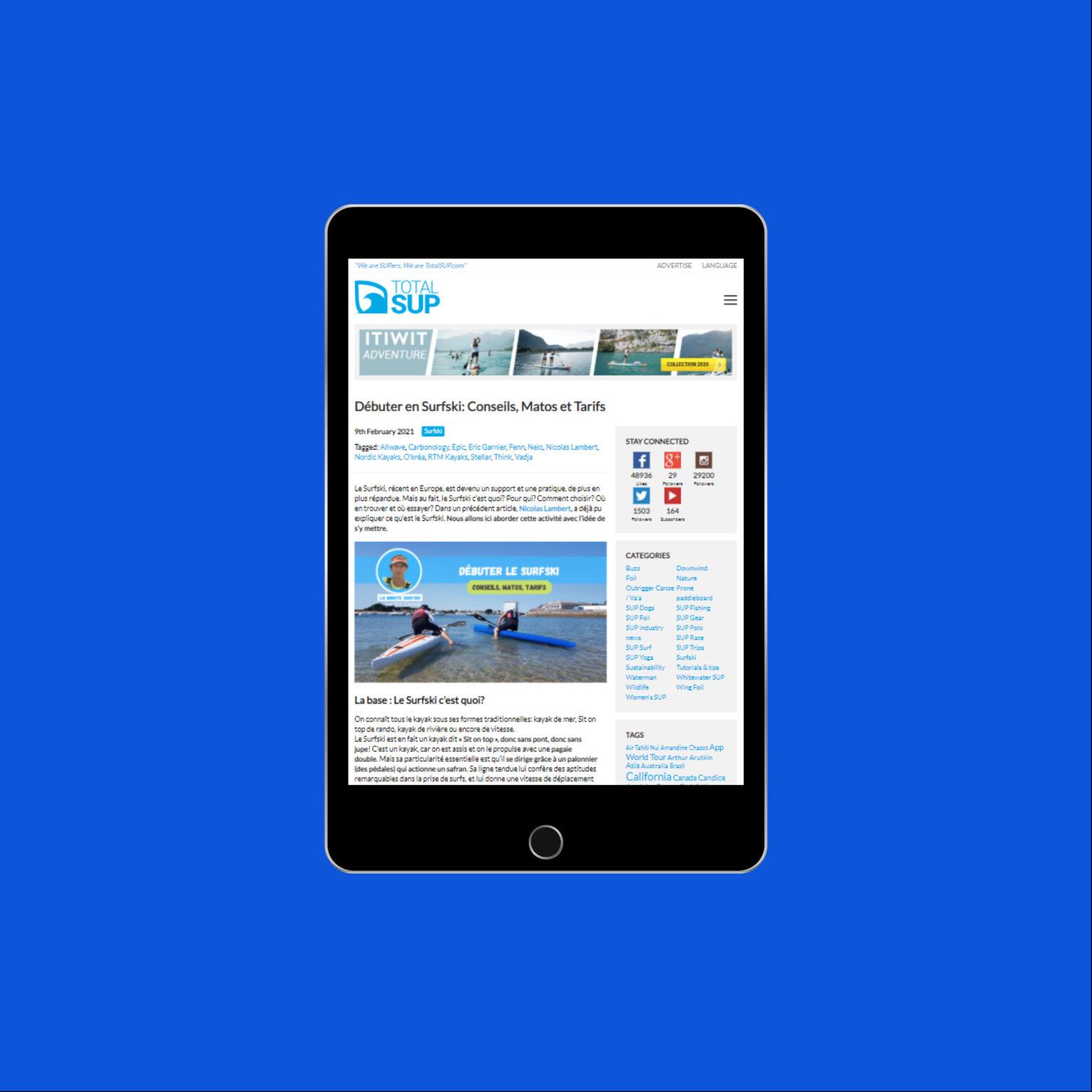 Miko Digital Agence web à Liège - TotalSUP
