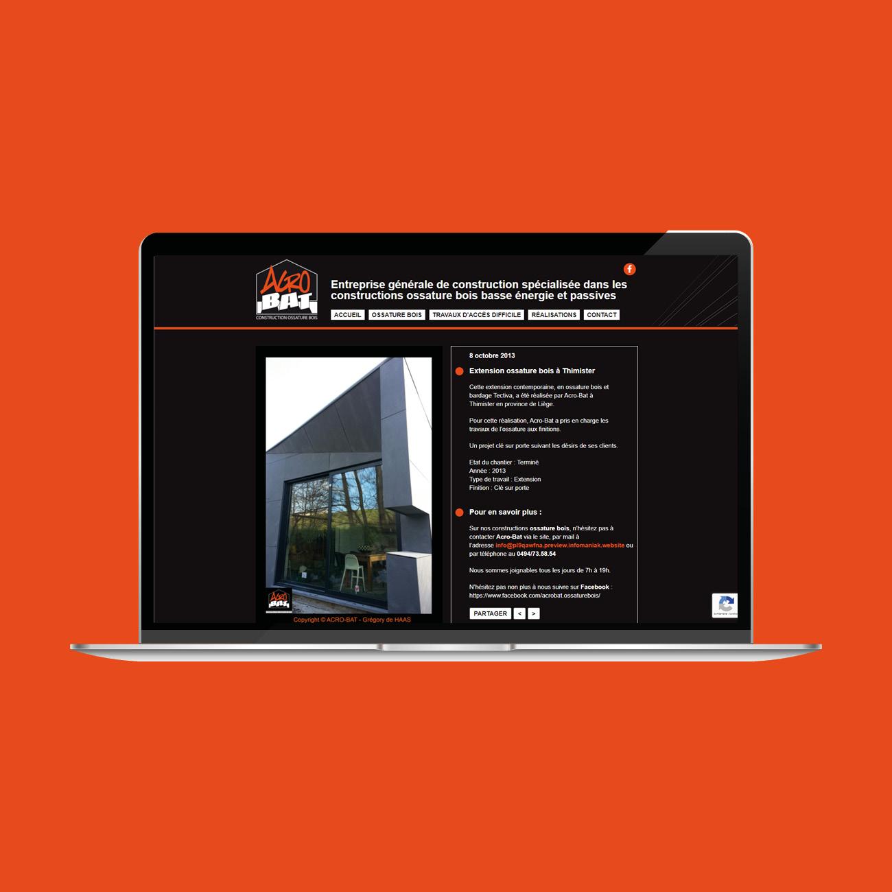 Miko Digital Agence web à Liège - Création site web Liège AcroBat