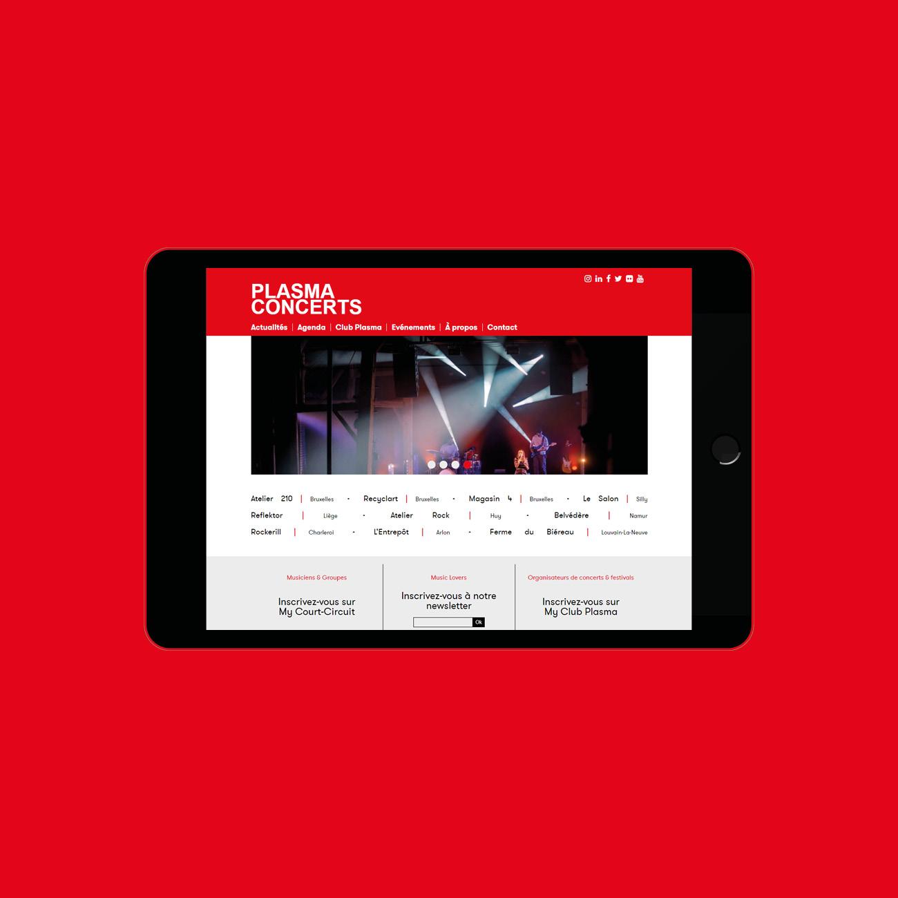 Miko Digital Agence web à Liège - Club Plasma