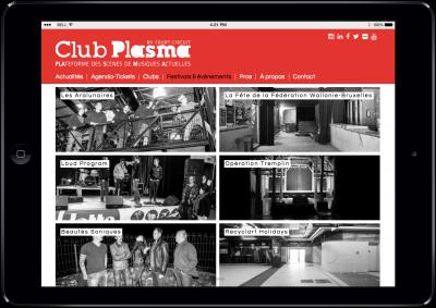 Agence web Liège Club Plasma