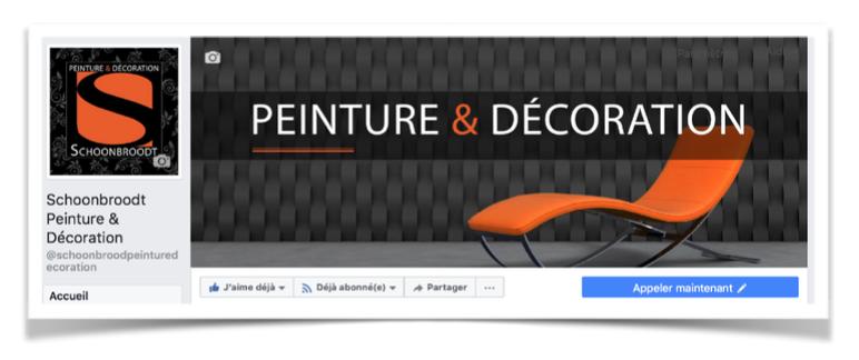 Agence web gestion page facebook schoonbroodt
