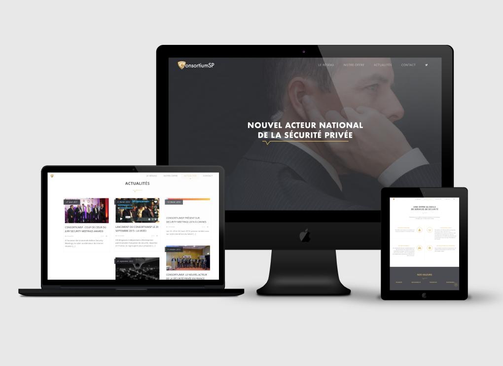 Création site web Liège ConsortiumSP