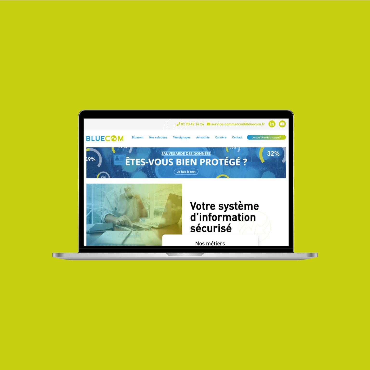 Miko Digital Agence web à Liège - Bluecom