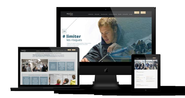 Création site web Pegasus Leadership Liège