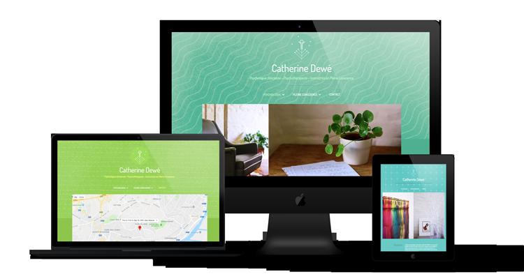 Création site web Psychologue Dewe