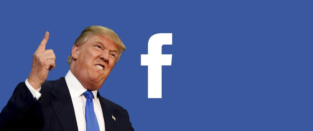 Votre campagne Facebook Trump