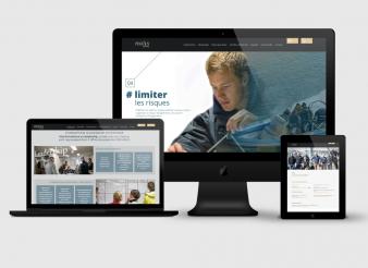 Création site web accueil Pegasus Leadership