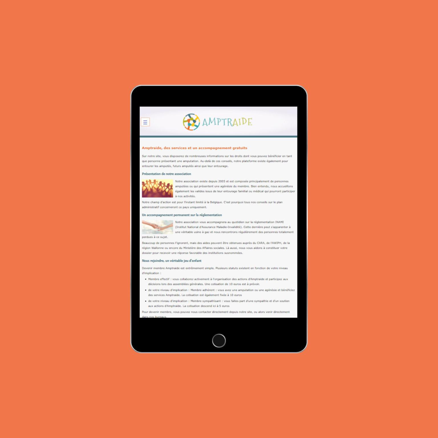 Miko Digital Agence web à Liège - Amptraide