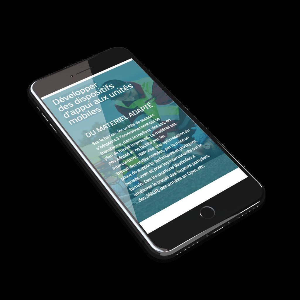 Création site web Mobile Imp France