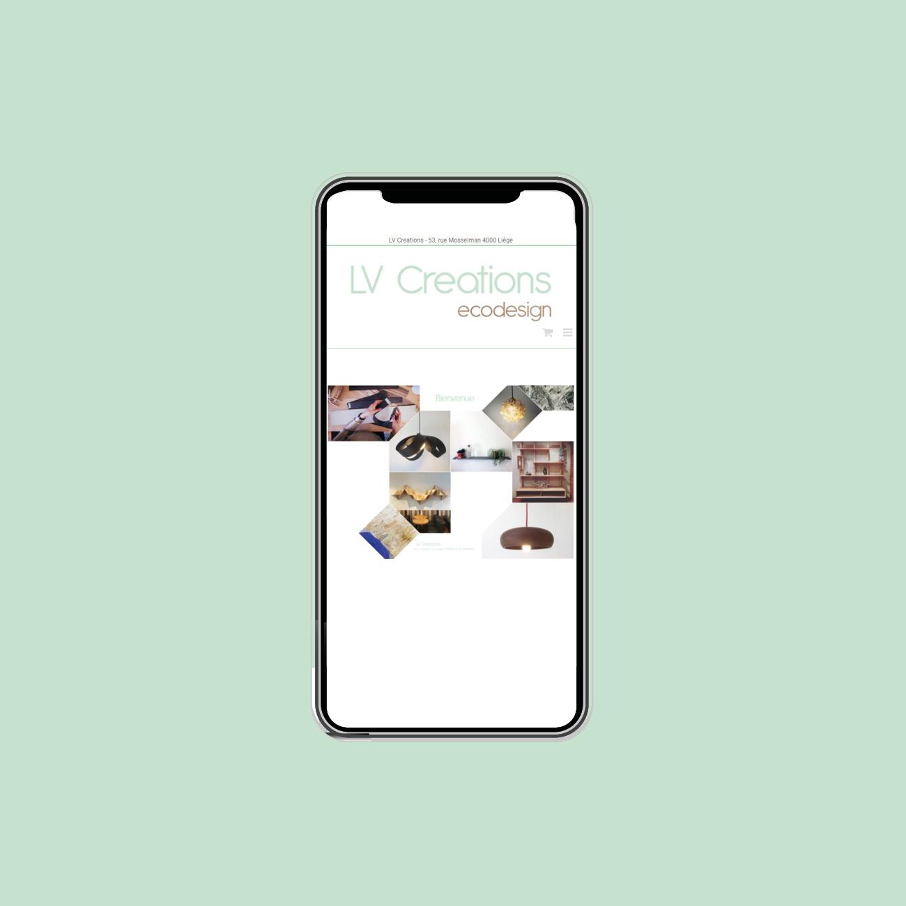 Miko Digital Agence web à Liège - Création e-commerce de LV Creations