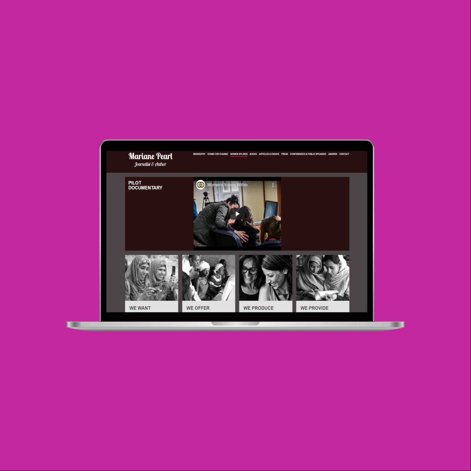 Miko Digital Agence web à Liège - Mariane Pearl