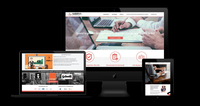 Optimisation site web Ambriva