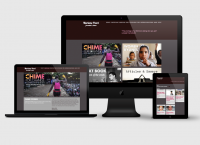 Création site web Mariane Pearl Portada Accueil