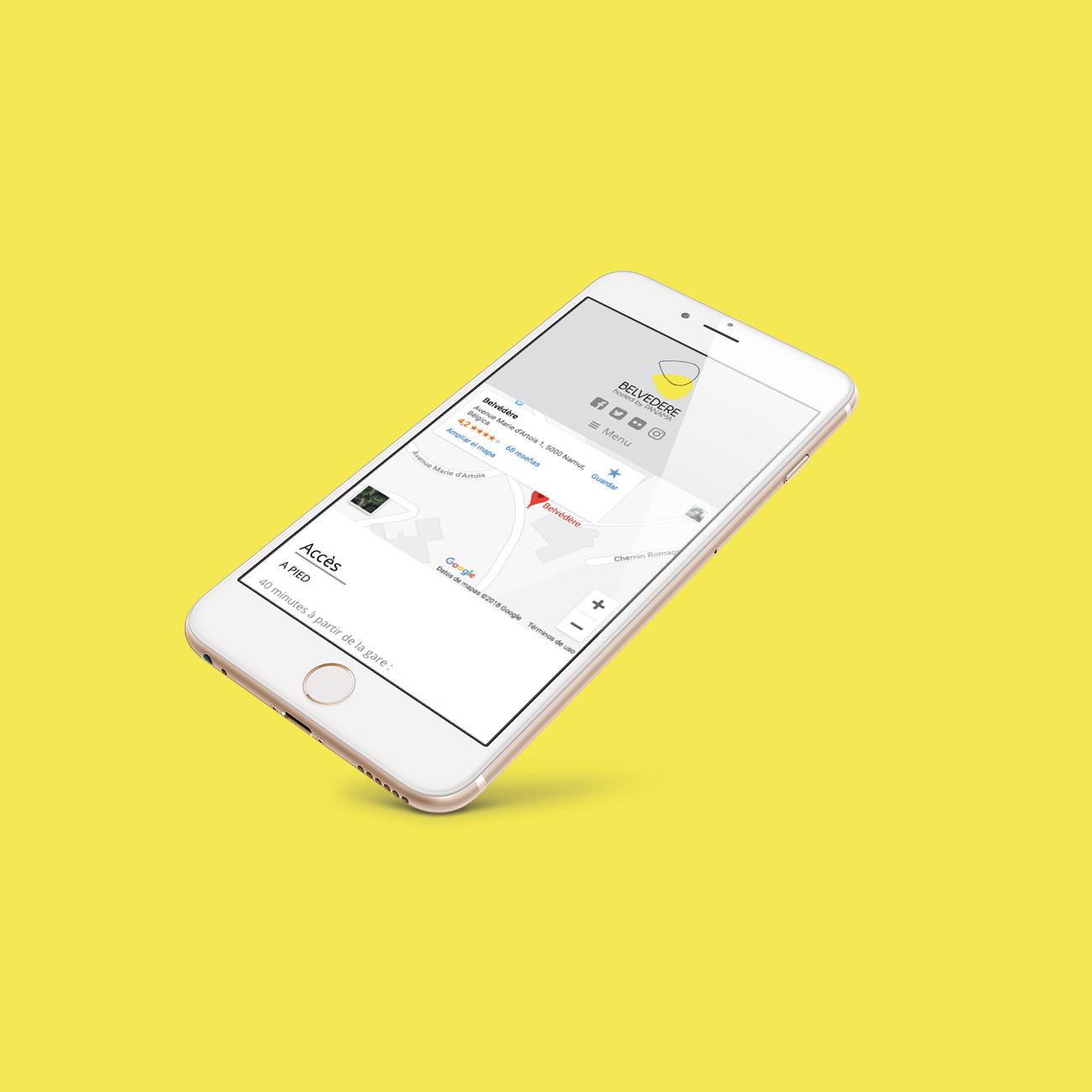 Miko Digital Agence Web à Liège -Création site web Belvédère