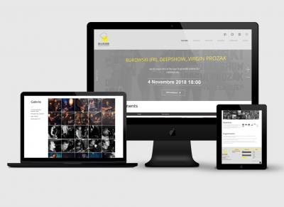 Création site web Belvédère Portada Accueil