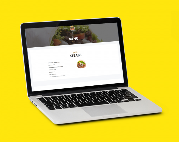 creation site web liège portfolio snack el baida