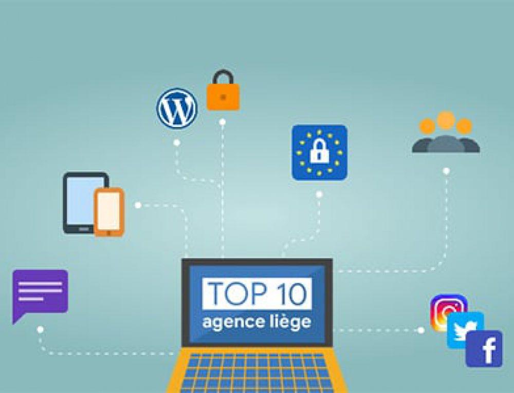 Quelle est la meilleure agence web à Liège ? (2019)