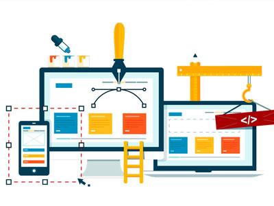 Création de site web avec une agence web petite